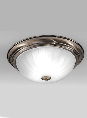 Franklite CF5644 Bronze Flush Light